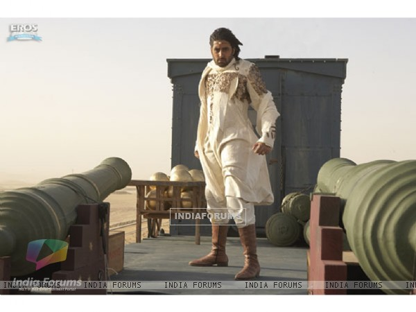 Abhishek looking amazing in Drona