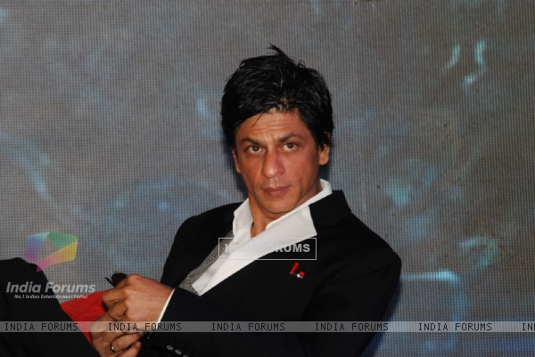 Shahrukh Khan launches NDTV Show Zor Ka Jhatka at Grand Hyatt. .