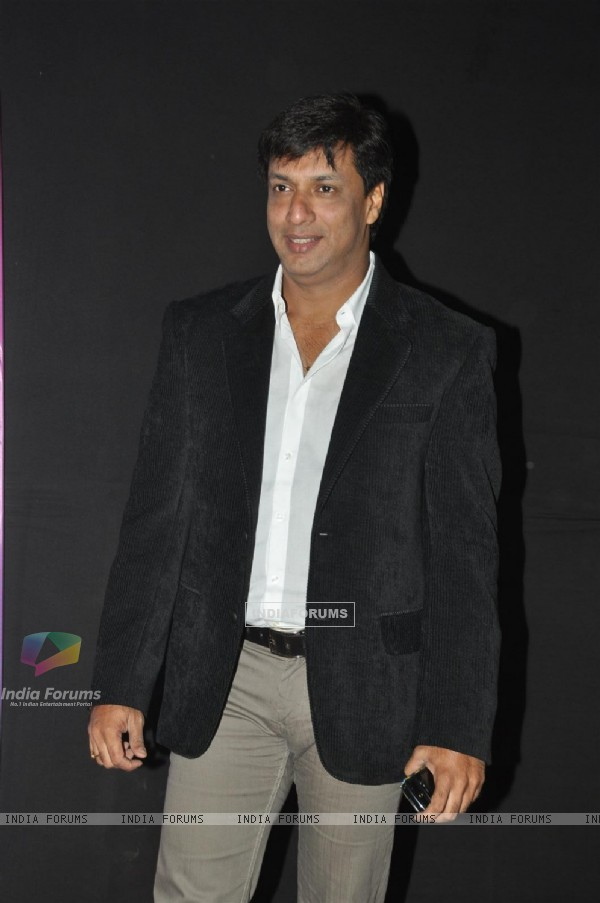 Madhur Bhandarkar at Pearls Waves Concert, Bandra Kurla Complex in Mumbai. .