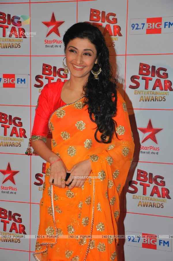 Ragini Khanna at the Big Star Entertainment Awards held at Bhavans College Grounds in Andheri