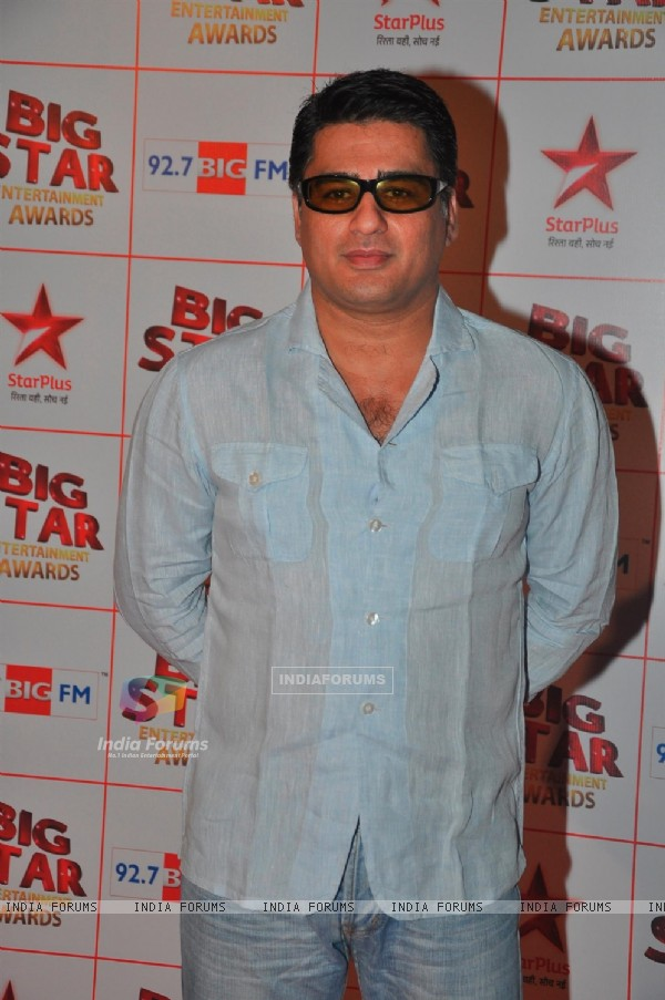 Ayub Khan at the Big Star Entertainment Awards held at Bhavans College Grounds in Andheri, Mumbai