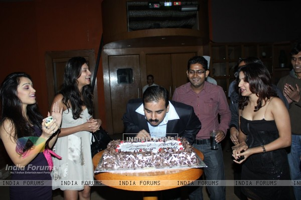 B'day party of Ajay Yadav at Marimba lounge, Mumbai