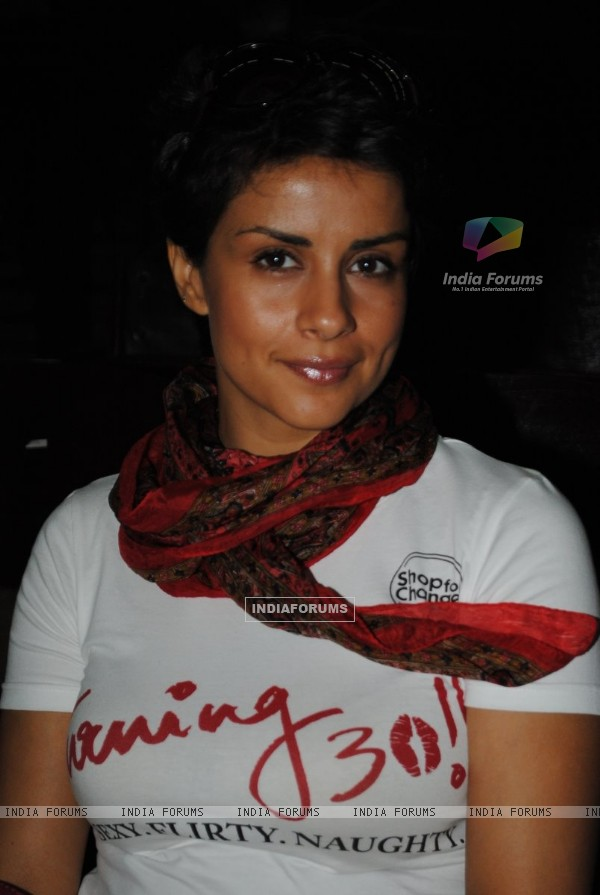 Gul Panag at Promotion of movie ''Turning 30!!!'' at IIT Powai ,Mumbai
