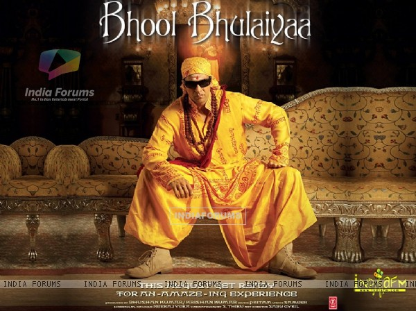Poster of Bhool Bhulaiyaa with Akshay kumar (11378)