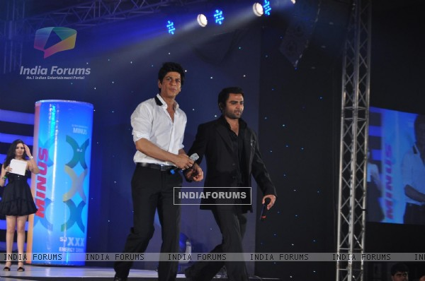 Shahrukh Khan launches XXX energy drink