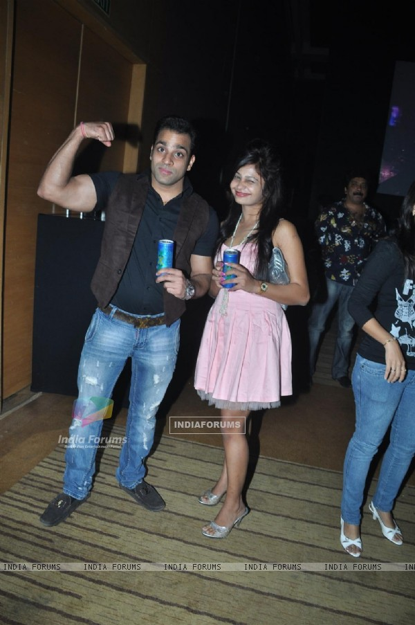 Abhishek Awasthi at launch party of XXX energy drink