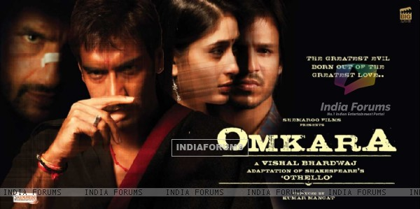 Poster of Omkara with Ajay,Saif,Vivek and Kareena (11400)