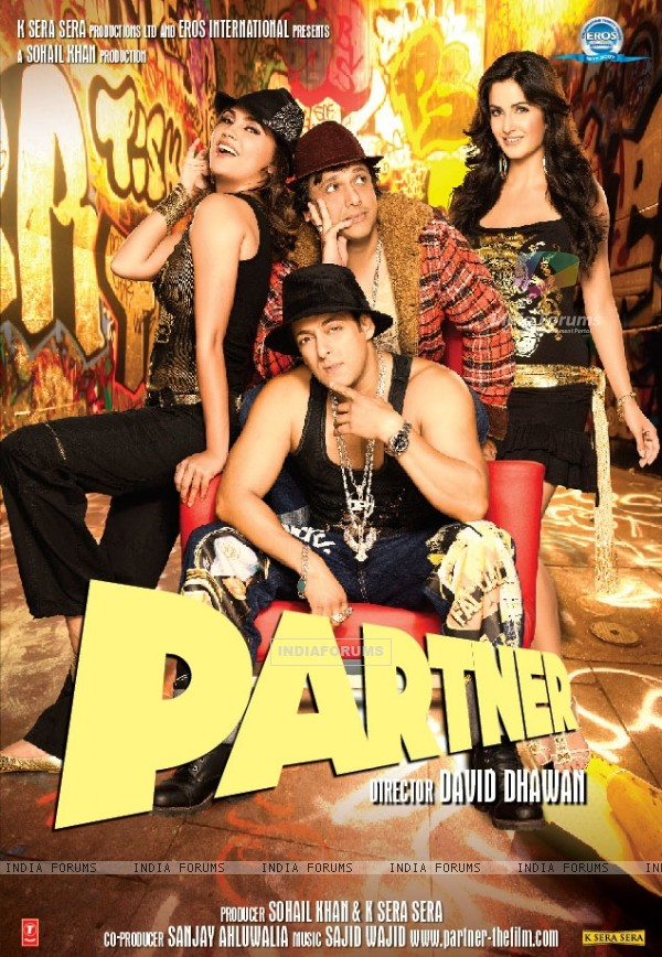 Poster of Partner movie (11405)