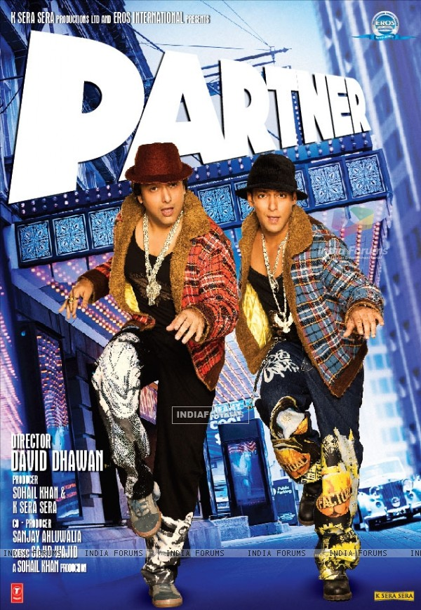 Partner movie poster with Salman and Govinda (11406)