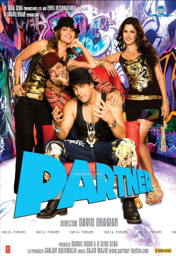 Partner poster with Salman,Govinda,Lara and Katrina (11407)