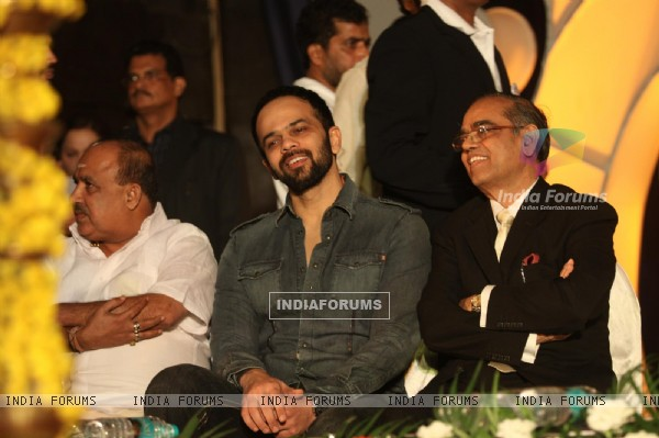Rohit Shetty at World bunts sports meet of 2010 in Mumbai