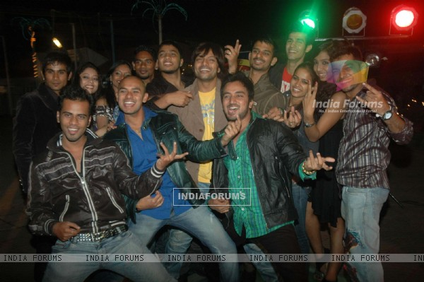 Dance India Dance bash at Orchid hotel. .
