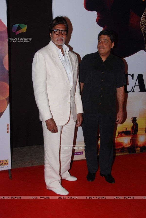 Amitabh Bachchan at No One Killed Jessica Premiere. .
