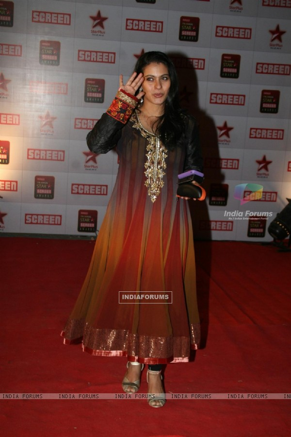 Kajol Devgan at 17th Annual Star Screen Awards 2011
