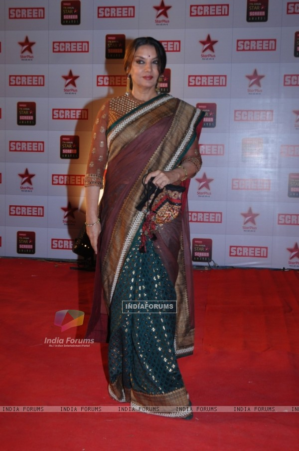 Shabana Azmi at 17th Annual Star Screen Awards 2011