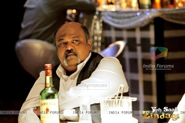 Saurabh Shukla in the movie Yeh Saali Zindagi