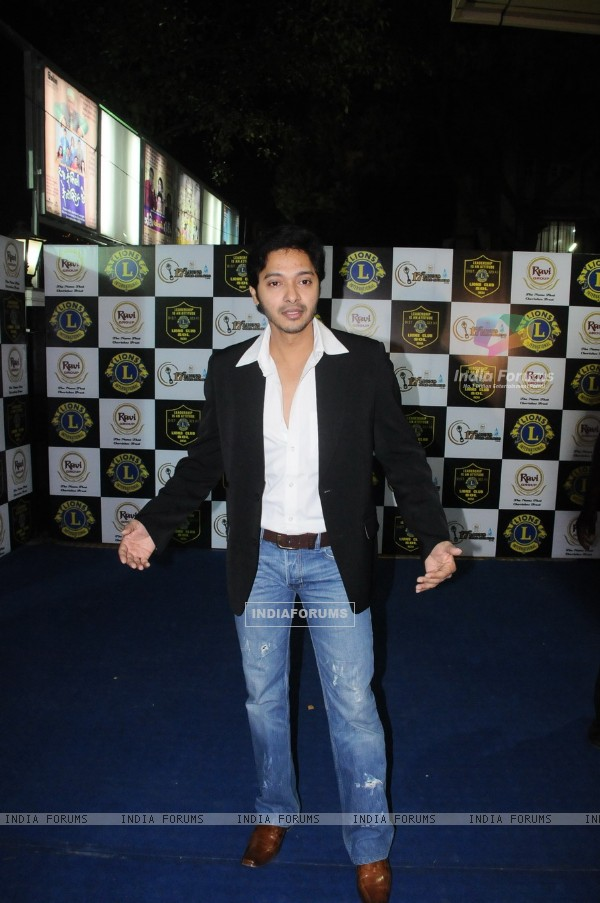 Shreyas Talpade at 17th Lions Gold Awards