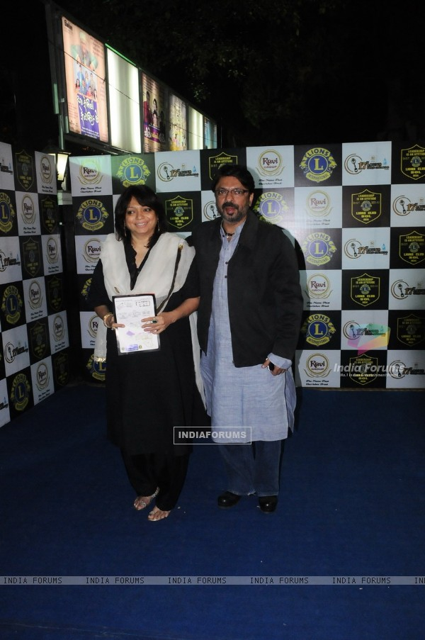 Sanjay Leela Bhansali at 17th Lions Gold Awards