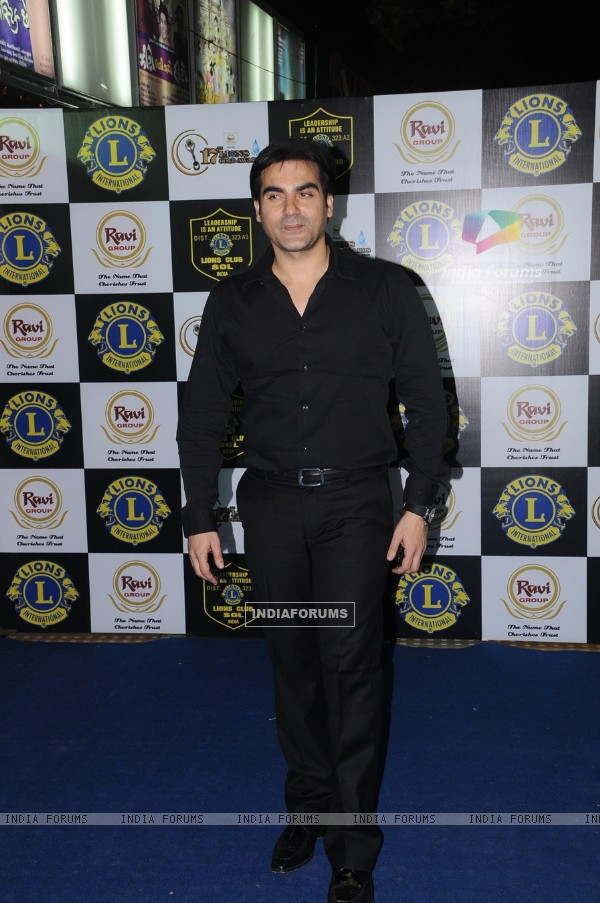 Arbaaz Khan at 17th Lions Gold Awards