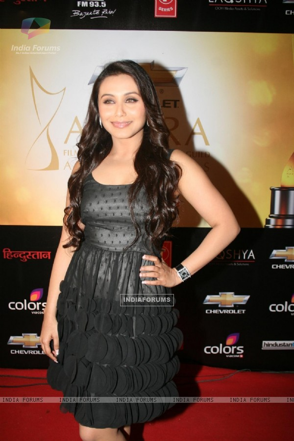 Rani Mukherjee at 6th Apsara Awards Night at BKC, Mumbai