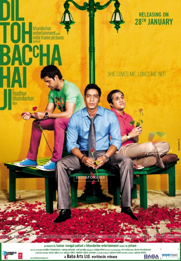 Dil Toh Baccha Hai Ji movie poster (116287)
