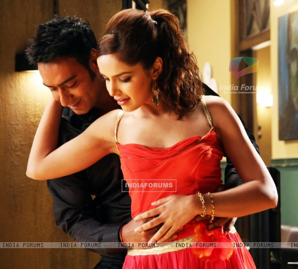 Ajay Devgan and Shazahn at Dil Toh Baccha Hai Ji (116292)