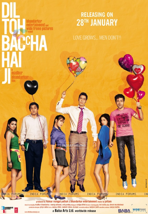 Poster of the mvoie Dil Toh Baccha Hai Ji (116297)