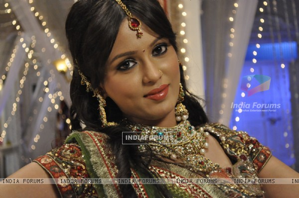 Snigdha Srivastava On the sets Of Shorr - Kankoo Ki Kahani Kankoo Ki Zubani