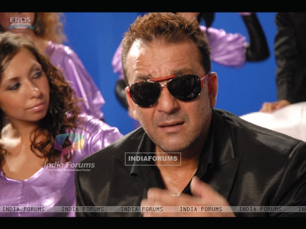 Sanjay Dutt looking shocked