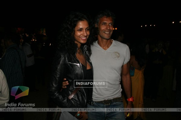 Milind Soman in Chivas Studio Fashion Show at Mahalaxmi Race Course