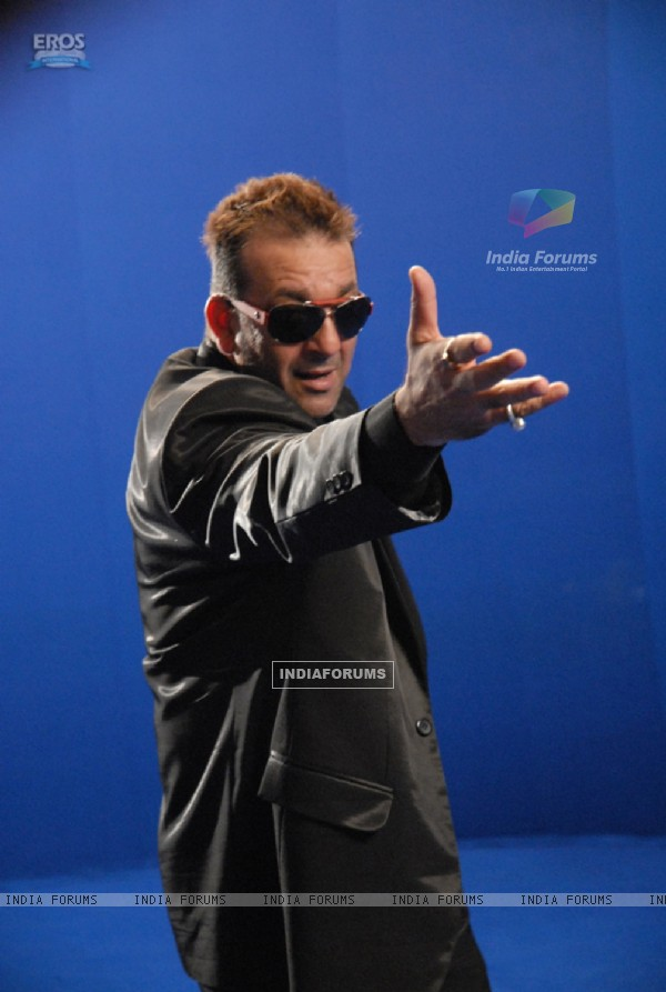 Sanjay Dutt making a pose for photoshoot