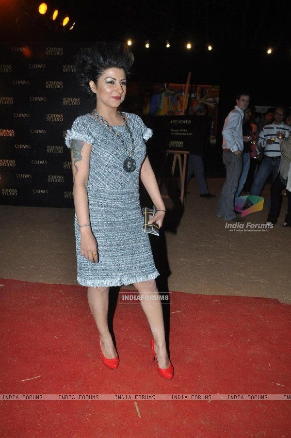Hard Kaur for Manish Malhotra show for Chivas Studio