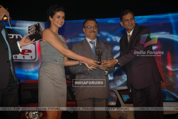 Gul Panag graces NDTV car n bike awards at Taj Land's End. .