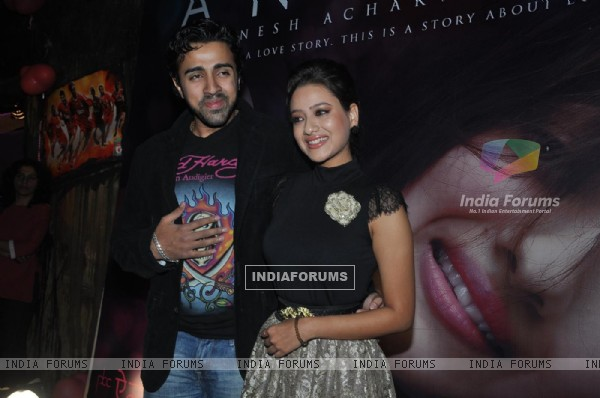 Maddalsa Sharma and Nilesh Sahay launch the music of Angel film at Dockyard