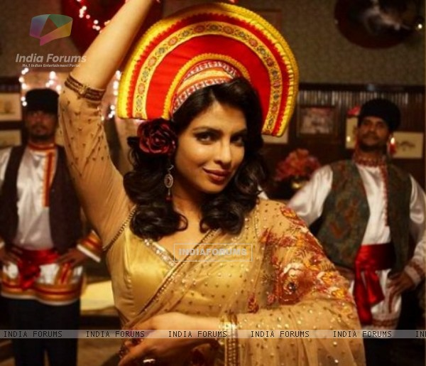Priyanka Chopra in the movie 7 Khoon Maaf