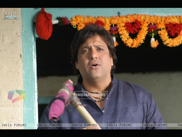 Govinda answering someone questions