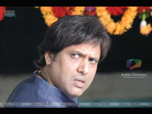 Govinda looking puzzled