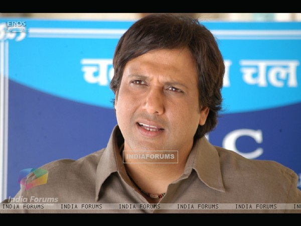 Govinda enquiring something
