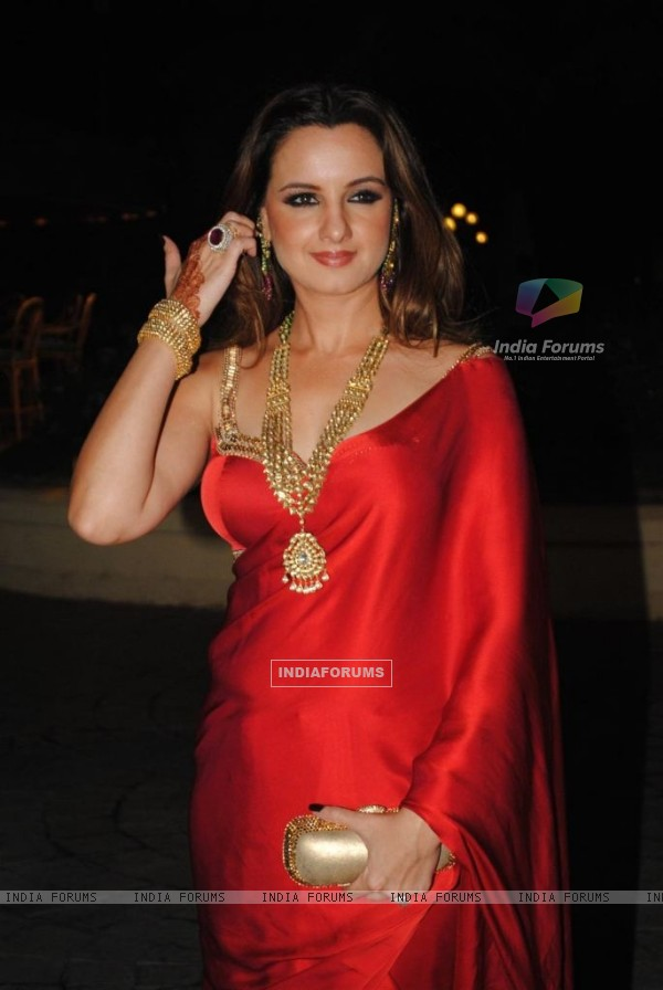 Laila Khan in Sameer Soni and Neelam Kothari's wedding ceremony