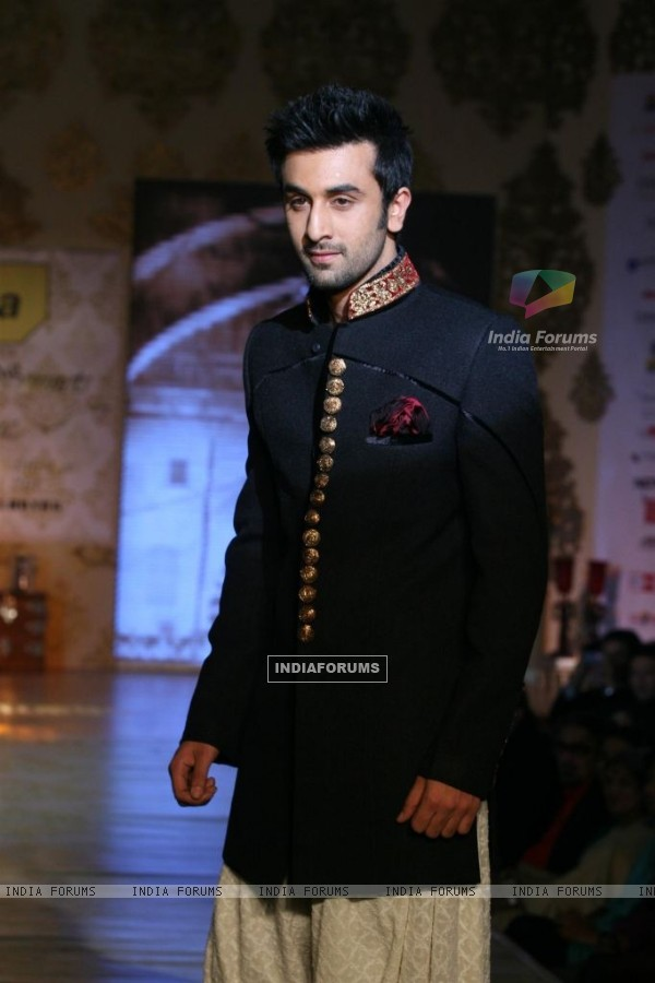 Ranbir Kapoor walks the ramp for Shabana Azmi's charity show 'Mizwan'
