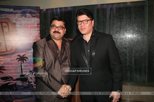 Aditya Pancholi at Satish Reddy's Cuban Theme bash