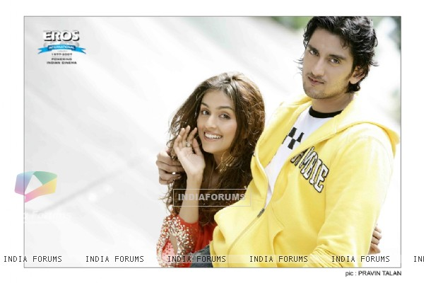 A still image of Aarti and Shaad Randhawa