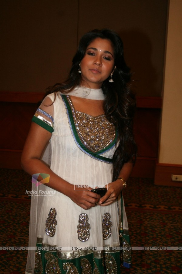Narayani Shastri as a contestant of Zor Ka Jhatka at JW Marriot