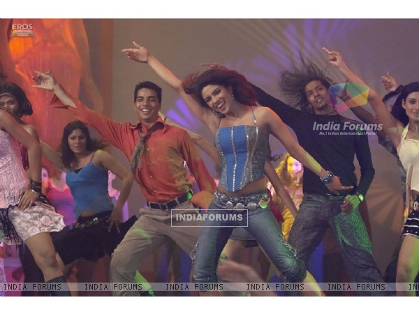 Priyanka Chopra on a dance floor