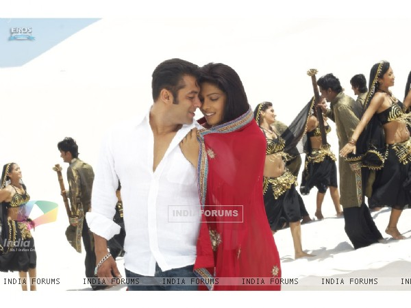 Salman and Priyanka feeling shy