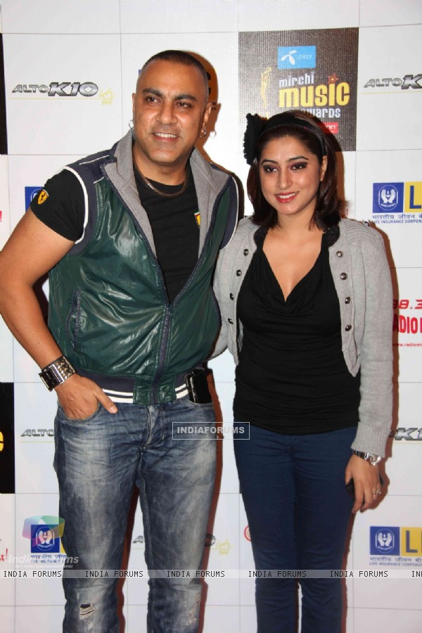 Baba Sehgal at Mirchi Music Awards 2011 at BKC