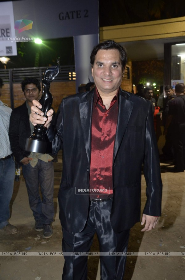 Lalit Pandit at filmfare red carpet. .