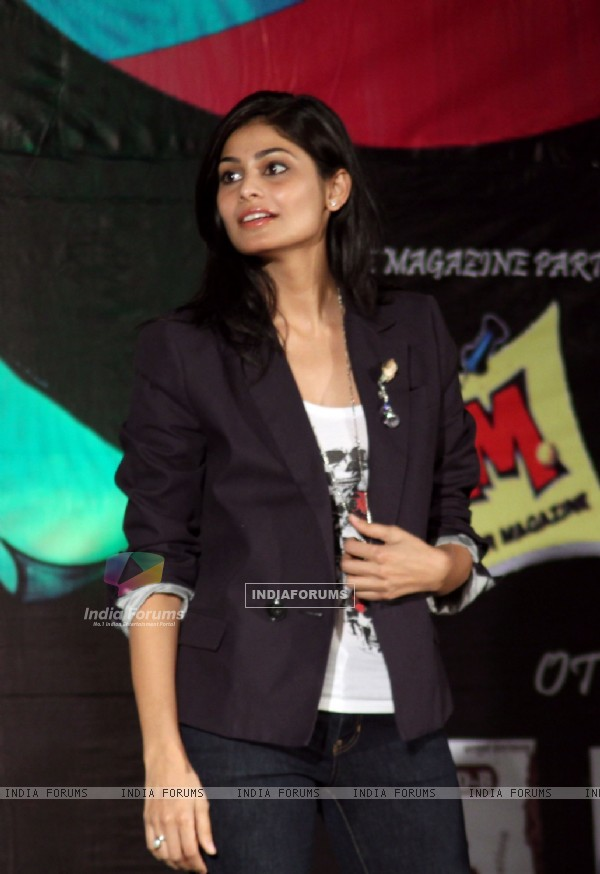 Pooja Gupta at vivid event at Mithibhai Collage ,Juhu, Mumbai