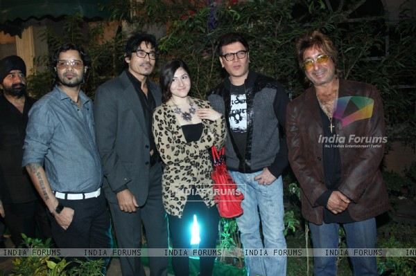 Aditya Pancholi and Shakti Kapoor at Banpreet Singh's Son Wedding