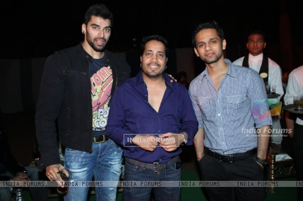 Mika Mehndi and Rahul Vaidya at Banpreet Singh's Son Wedding